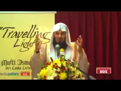 Why I am On Facebook & Twitter - Mufti Menk