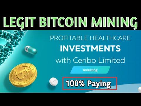 Ceribo: Legit Bitcoin Mining Site | Best Bitcoin Miner