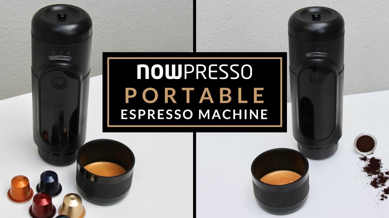 NOWpresso Portable Espresso Machine - YouTube