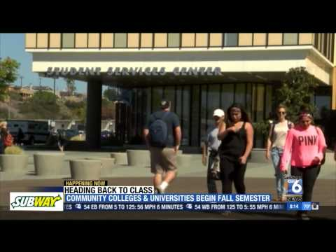 XETV-SD: San Diego Community Colleges Start Fall Semester