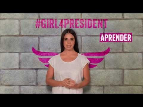Plan International - Elena Furiase #Girl4President spot on YouTube