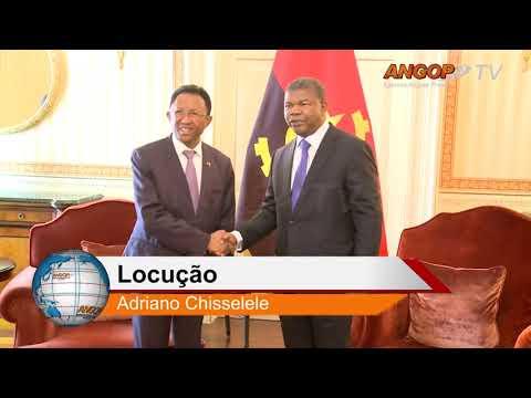 Angola e Madagáscar oficializam cooperação