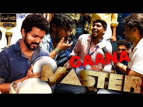Master Special Gana Song - Fans Mass Celebration | Thalapathy Vijay | Vijay Sethupathi | Anirudh