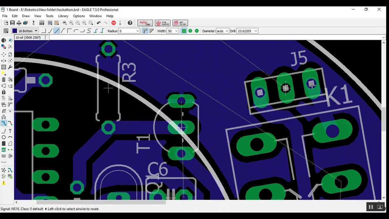 PCB Designing - 6 - A Complete Design (In Bangla) - YouTube