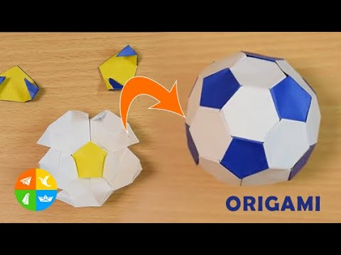Origami Nut » Origami Football   360x480