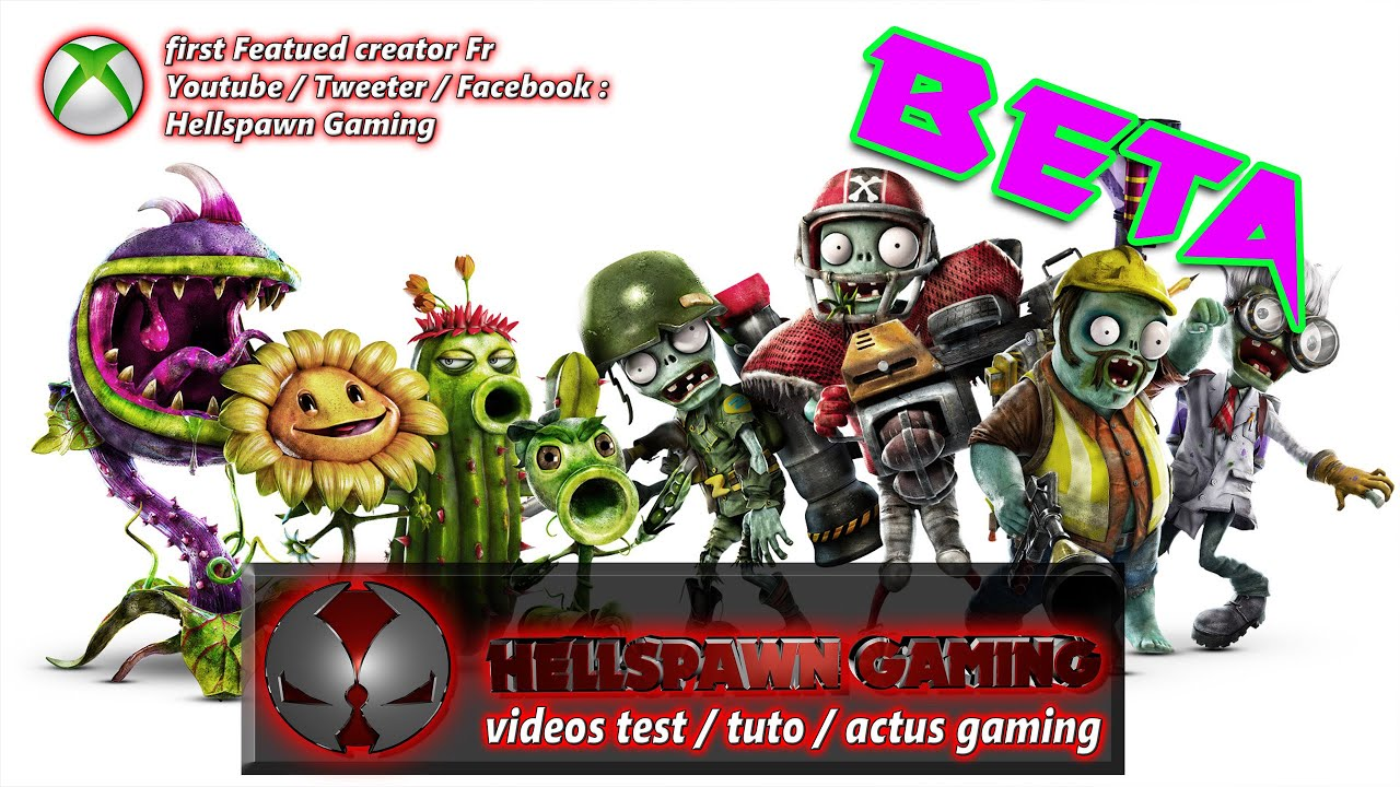Beta test plante vs zombie gw2 by hellspawngaming youtube for Plante vs zombie