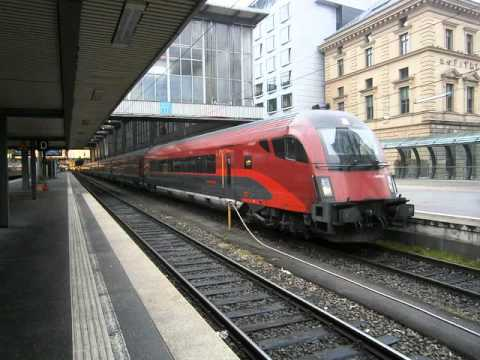 RAILJET at Munchen station