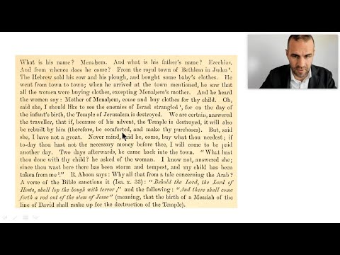 MORE Suppressed Texts Pointing To Yeshua UNCOVERED By Dr. Biesenthal! ✡ Messianic Jewish History 14