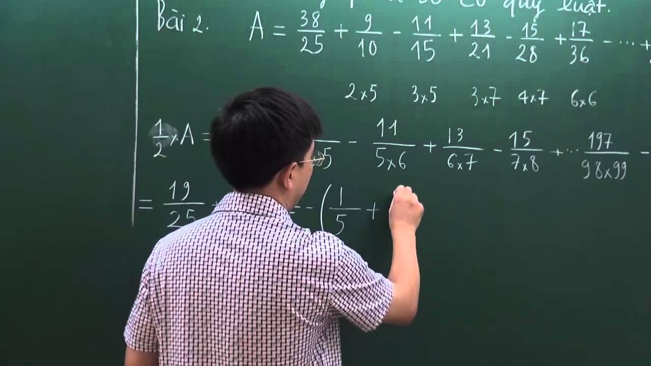 Kết quả hình ảnh cho Dãy phân số có quy luật