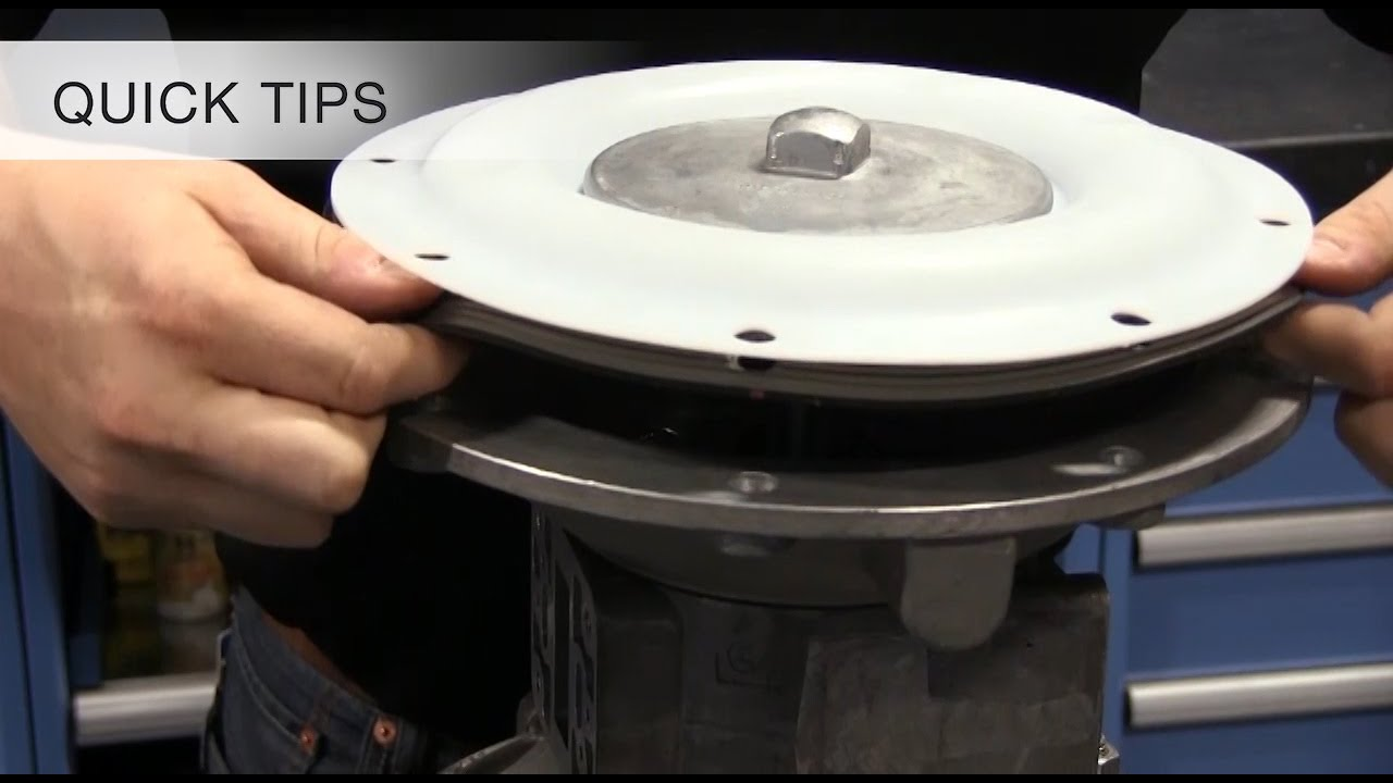 Quick tip 03 install a ptfe and backer diaphragm in a sandpiper quick tip 03 install a ptfe and backer diaphragm in a sandpiper pump ccuart Gallery