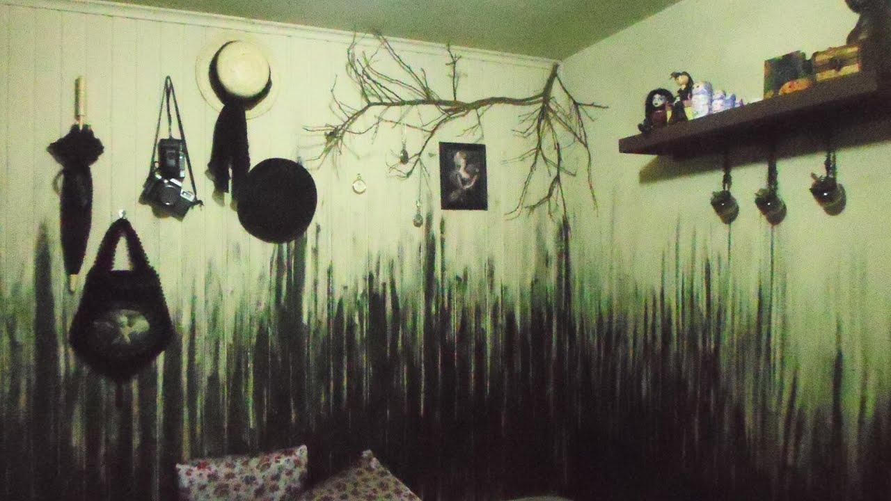 Gothic Decorating Ideas room tour:goth dark mori decor diy / meu quarto gótico - youtube