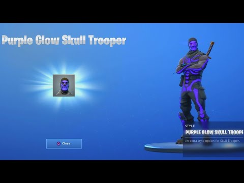 How To Get Purple Skull Trooper In 2020