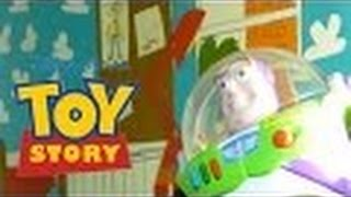 "Toy Story Scene- ""I Am Buzz Lightyear""  Live Action Reenactment"