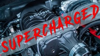 600 HP!! Installing a Roush Supercharger