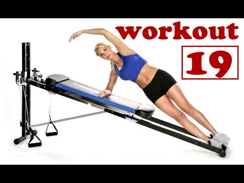Pilates Workout for Total Trainer & Reformer No.19 (by Ultimate Pilates, Sydney)