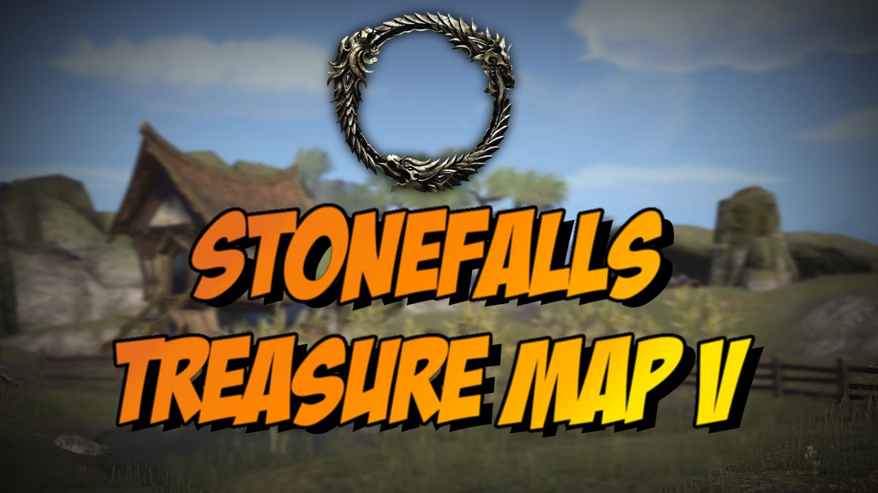 ESO] Elder Scrolls Online: Stonefalls Treasure Map V(5) Location ...