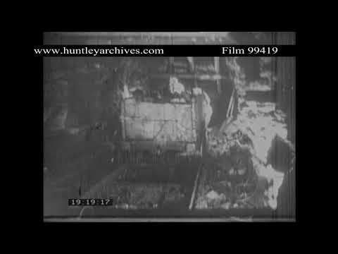 Mining in the early 1920's.  Archive film 99419