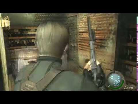 Resident Evil 4 Professional No Damage taken walkthrough Chapter 5-1