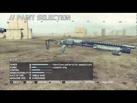 Ghost Recon : Future Soldier- Gunsmith Customization Gameplay [HD]