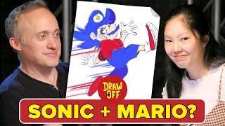 Animator Vs. Cartoonist Try Character Mashups