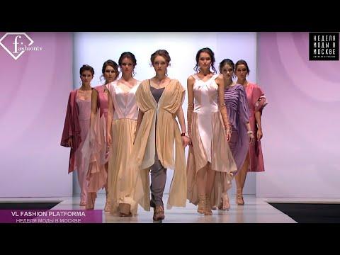 Показ коллекций профессиональных курсов «Дизайн одежды» на Неделе моды в Москве Spring 2019