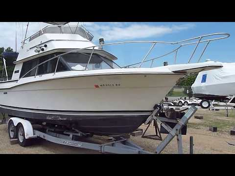 For Sale, 1984 Carver, 26 Santa Cruz - YouTube