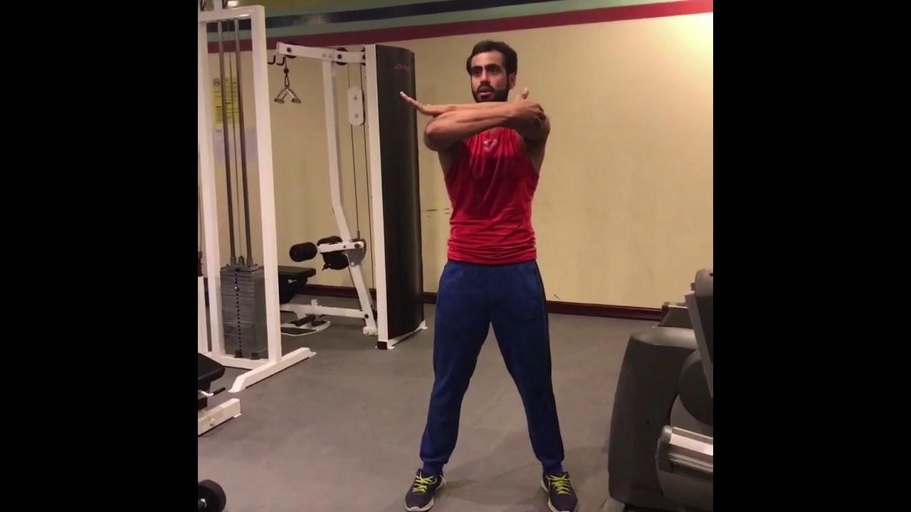 الاحماء او تسخين الجسم قبل التمرين Youtube