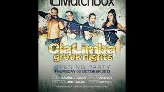 Macthbox...Ola Limba...3 October ...Thursday....opening party.... videoclip 2