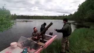 Рыбалка на реке Сегежа. В поисках хариуса. Активная щука.