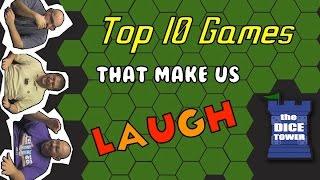 Top 10 Games that Make us Laugh
