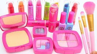 Beauty Cosmetic Kit MakeUp Glamours Girls Lip Balm And Nail Polish