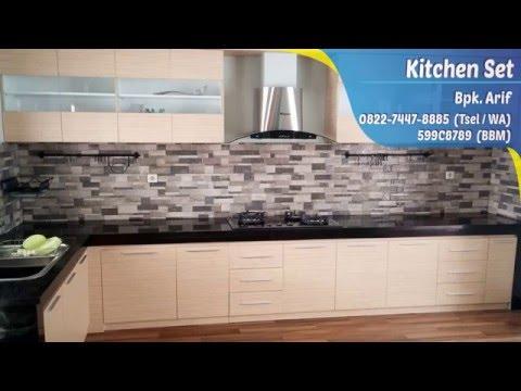 Jual Kitchen Set Minimalis Di Bekasi, Harga Kitchen Set Bekasi