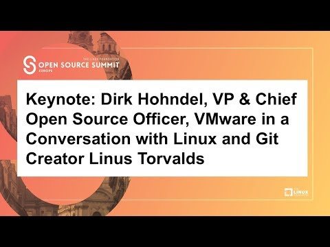 Keynote: Dirk Hohndel in a Conversation with Linus Torvalds