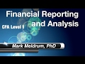 64.  CFA Level 1 Financial Reporting and Analysis Reading 29 LO9