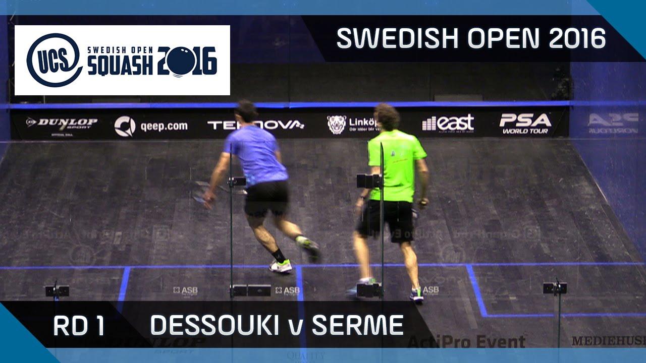 Story of 2016 Swedish Open - Professional Squash Association