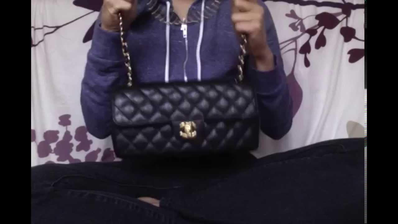b121c881dbf0 Chanel East West Flap Bag - YouTube
