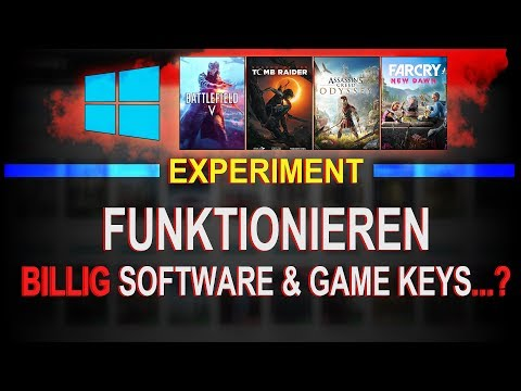 Funktionieren BILLIG Software und Game Keys? -- GVGMall Shop Experiment thumbnail