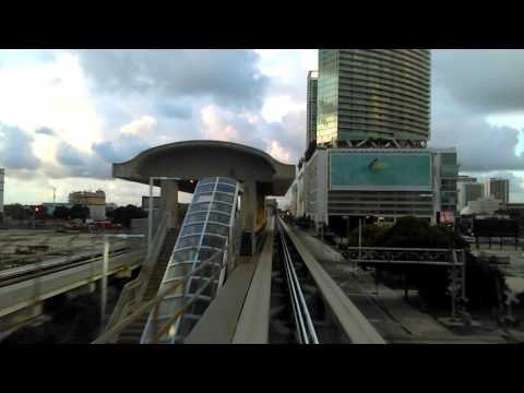 Paseo en Metromover  Miami