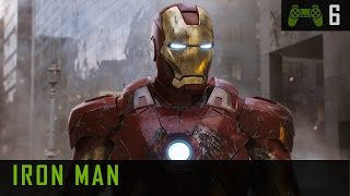 Iron Man 1 PC Gameplay - Walkthrough - Mission 6 Flying Fortress