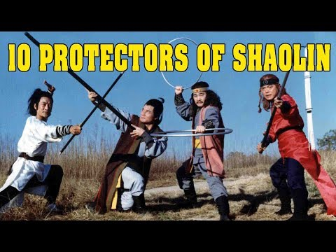Wu Tang Collection - 10 Protectors Of Shaolin (aka-Ten Instructors of Shaolin)