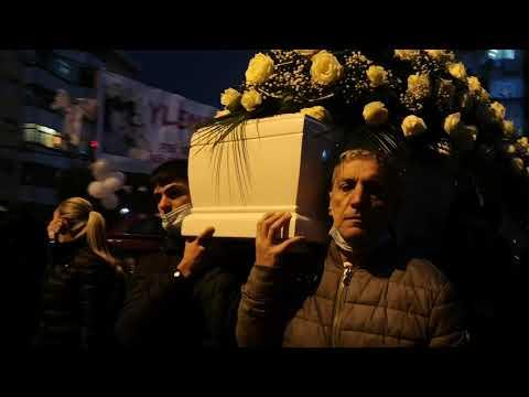 Il funerale di Ylenia Bonavera