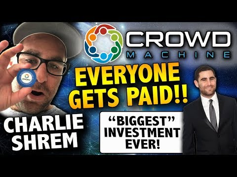 CROWD MACHINE ICO Decentralized App Development for THE MASSES - Charlie Shrem INVESTED + USA ICO