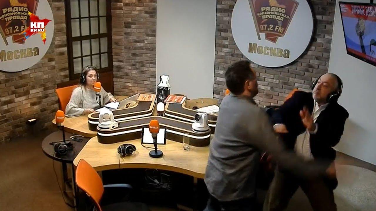 Сванидзе и Шевченко подрались в прямом эфире «Комсомольской Правды»