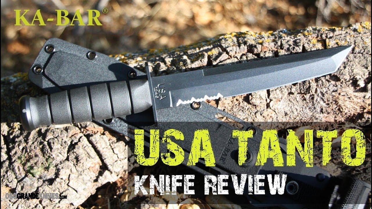 K Bar Knife With Sheath