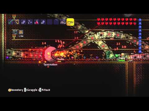Terraria [Xbox] - All Bosses SOLO, including Ocram !