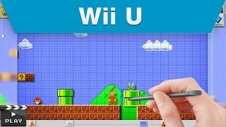 Wii U - Mario Maker E3 2014 Announcement Trailer