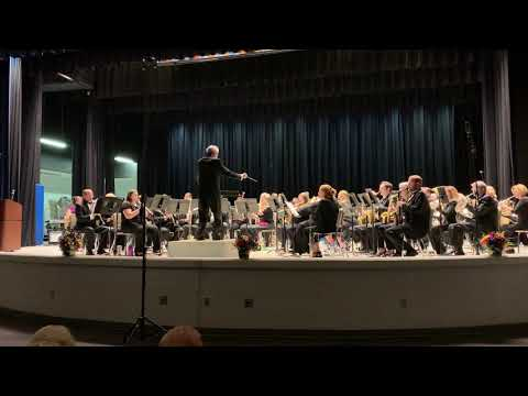 Mobile Pops Band 9-24-18 - Finale from The New World Symphony - Dvorak