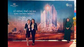 King Crown Infinity - Clip Lễ động thổ dự án căn hộ 218 Võ Văn Ngân, Thủ Đức ngày 21/11/2020