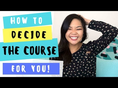 Finding the right university/college course | For high school students! | Career talk 4