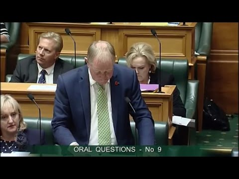 Question 9 - Phil Twyford to the Minister for Building and Construction